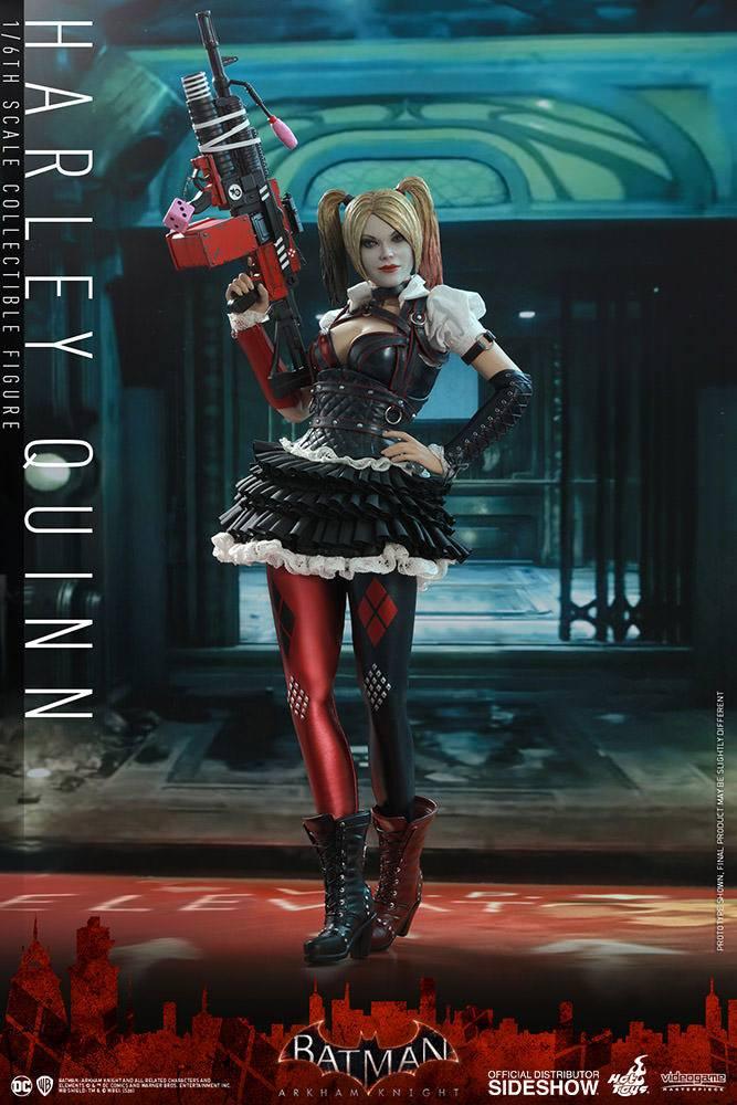Figurine Batman Arkham Knight Videogame Masterpiece Harley Quinn 30cm