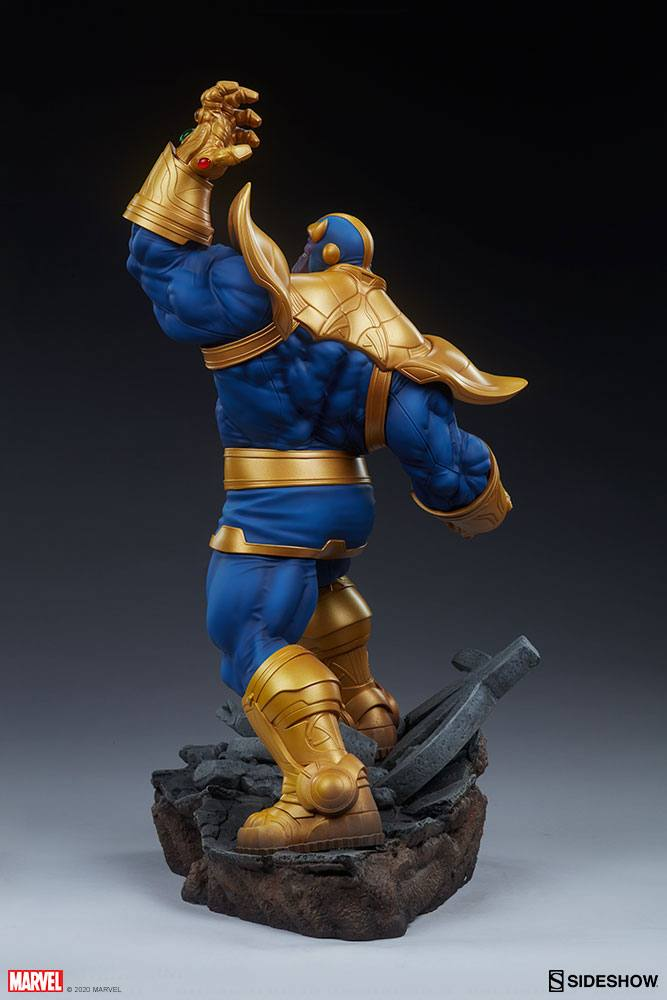 Statue Avengers Assemble Thanos Classic Version 58cm 1001 Figurines (3)
