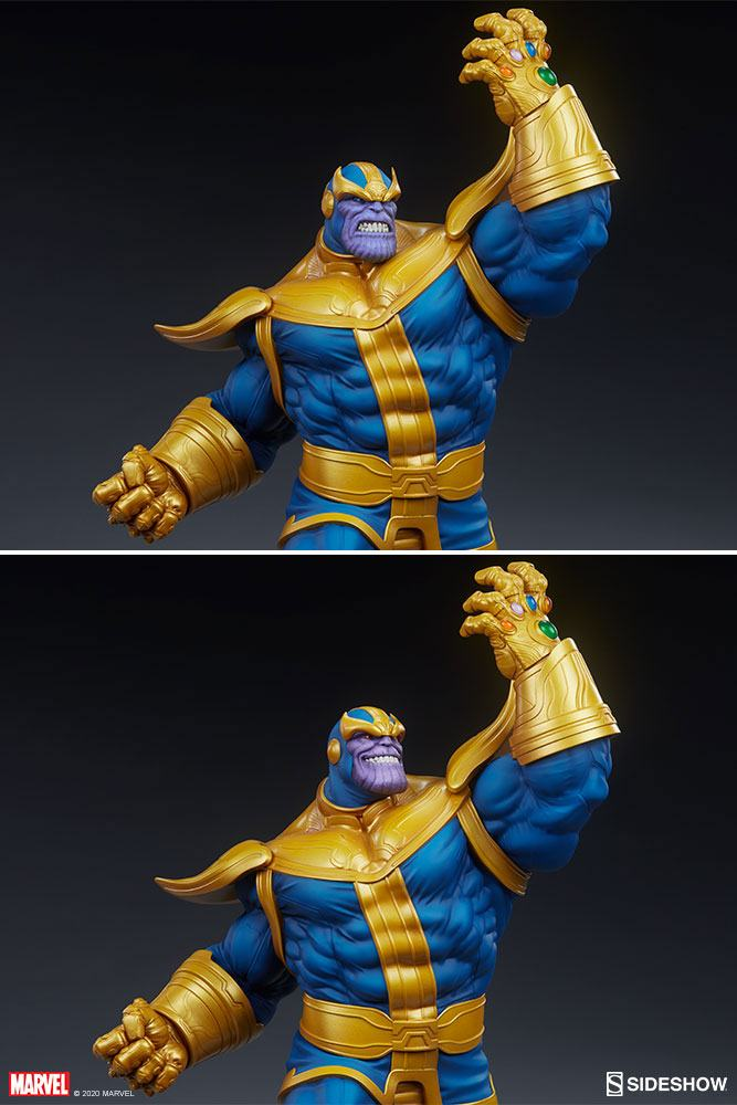 Statue Avengers Assemble Thanos Classic Version 58cm 1001 Figurines (5)