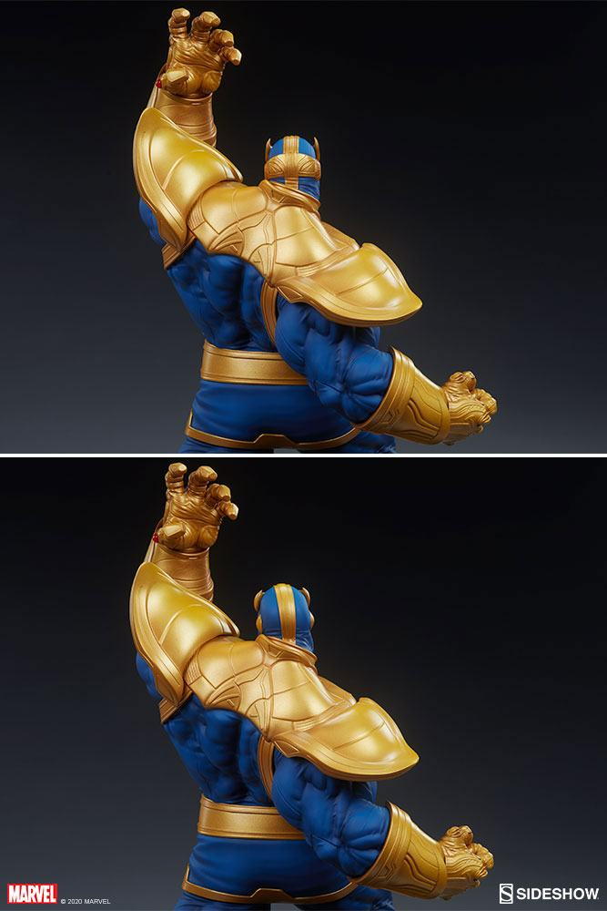 Statue Avengers Assemble Thanos Classic Version 58cm 1001 Figurines (6)