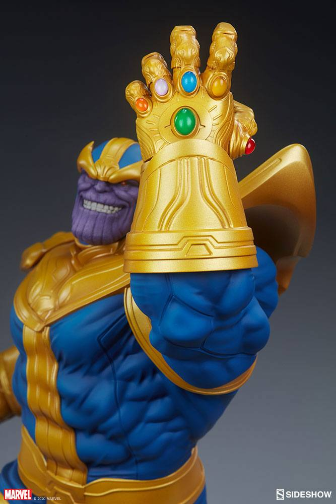Statue Avengers Assemble Thanos Classic Version 58cm 1001 Figurines (7)