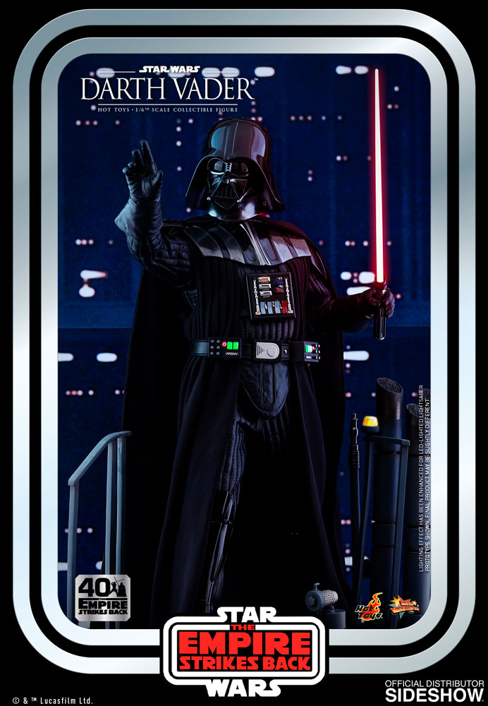 Figurine Star Wars Darth Vader The Empire Strikes Back 40th Anniversary Collection 35cm 1001 figurines 2