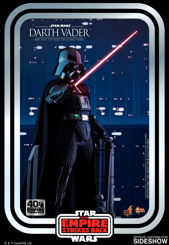 Figurine Star Wars Darth Vader The Empire Strikes Back 40th Anniversary Collection 35cm 1001 figurines 4