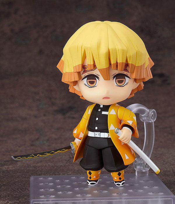 Figurine Nendoroid Kimetsu no Yaiba Demon Slayer Zenitsu Agatsuma 10cm 1001 Figurines (1)