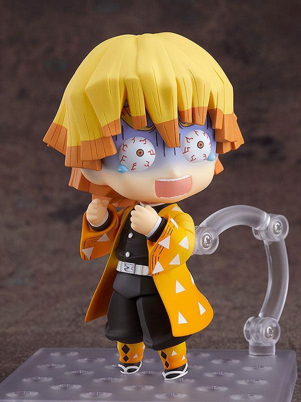 Figurine Nendoroid Kimetsu no Yaiba Demon Slayer Zenitsu Agatsuma 10cm 1001 Figurines (2)