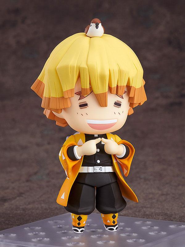 Figurine Nendoroid Kimetsu no Yaiba Demon Slayer Zenitsu Agatsuma 10cm 1001 Figurines (3)