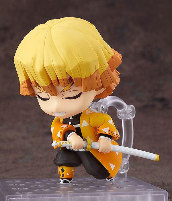 Figurine Nendoroid Kimetsu no Yaiba Demon Slayer Zenitsu Agatsuma 10cm 1001 Figurines (4)