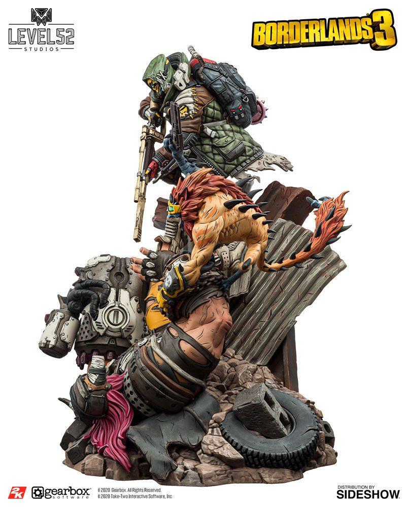 Statuette Borderlands 3 FL4K A Good Hunt 58cm 1001 figurines (7)