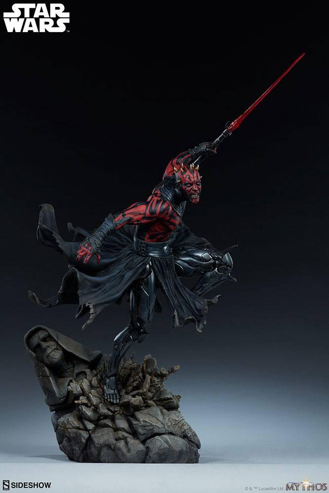 Statuette Star Wars Mythos Darth Maul 60cm 1001 figurines (4)