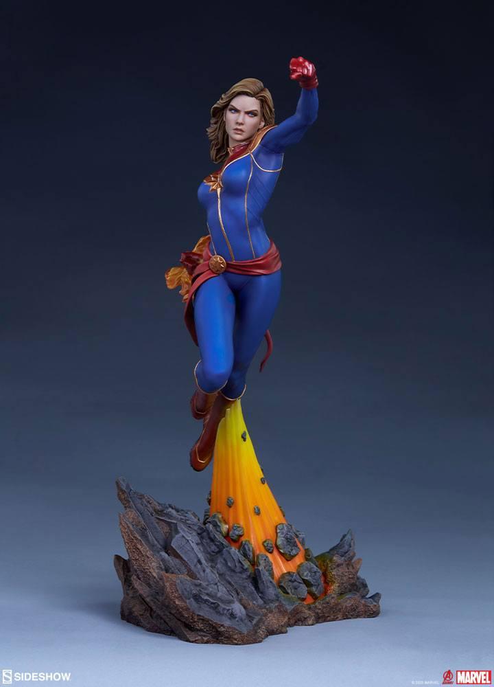 Statuette Avengers Assemble Captain Marvel 41cm 1001 Figurines (7)