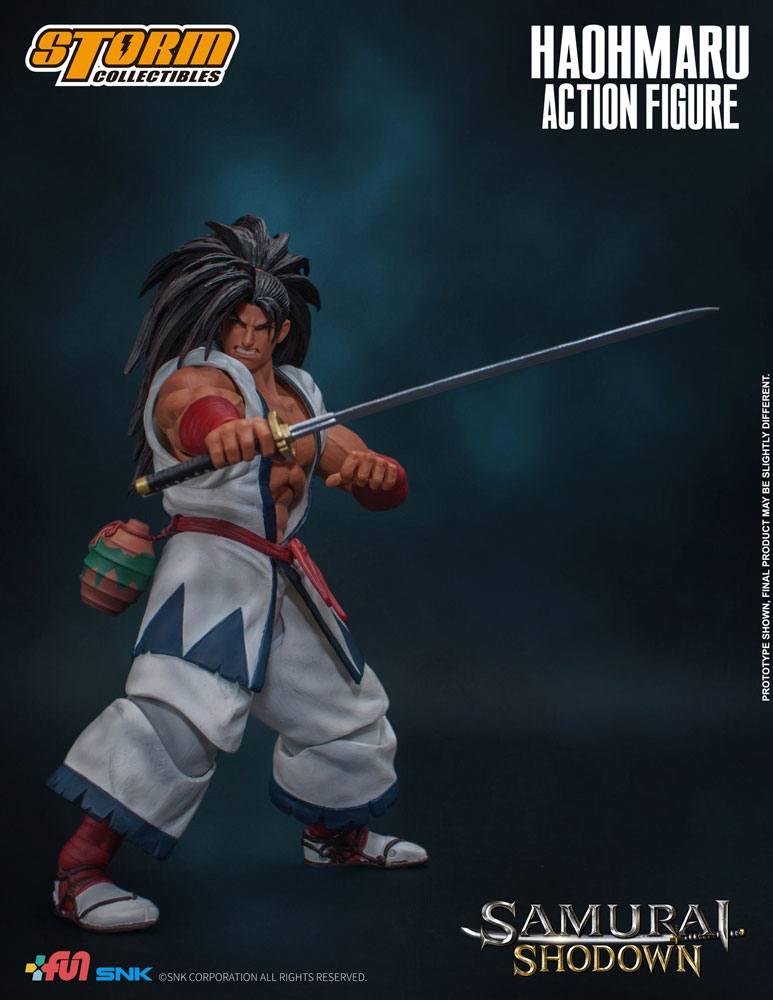 Figurine Samurai Shodown Haohmaru 18cm 1001 Figurines (7)