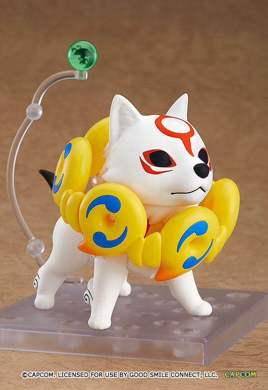 Figurine Nendoroid Okami Amaterasu DX Version 10cm 1001 Figurines (2)