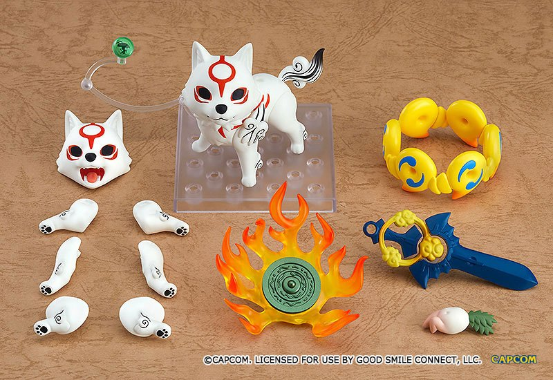 Figurine Nendoroid Okami Amaterasu DX Version 10cm 1001 Figurines (4)
