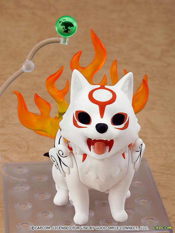 Figurine Nendoroid Okami Amaterasu DX Version 10cm 1001 Figurines (7)