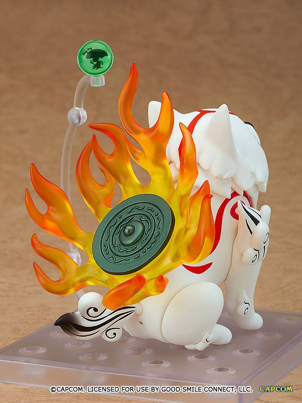 Figurine Nendoroid Okami Amaterasu DX Version 10cm 1001 Figurines (8)