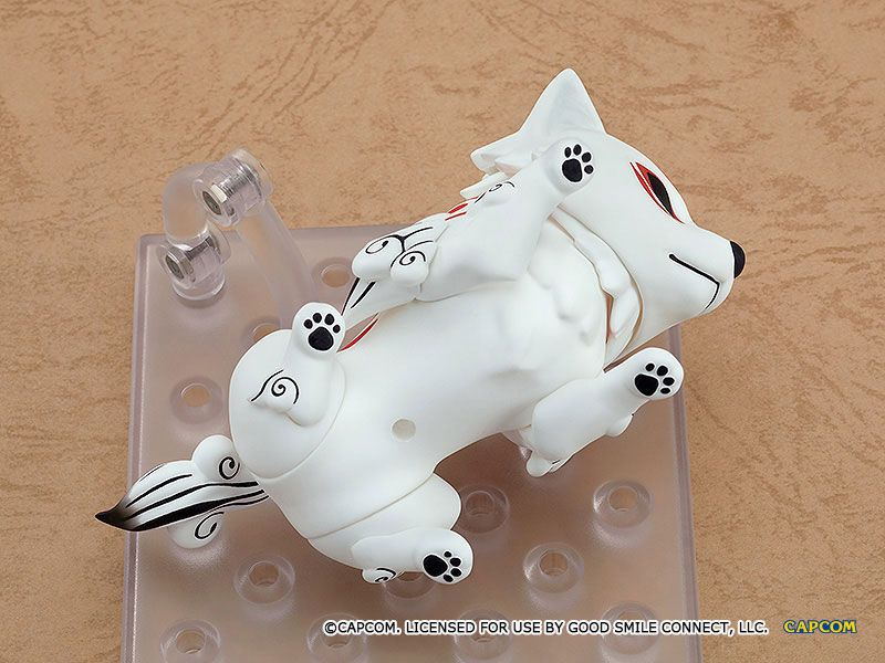 Figurine Nendoroid Okami Amaterasu DX Version 10cm 1001 Figurines (9)
