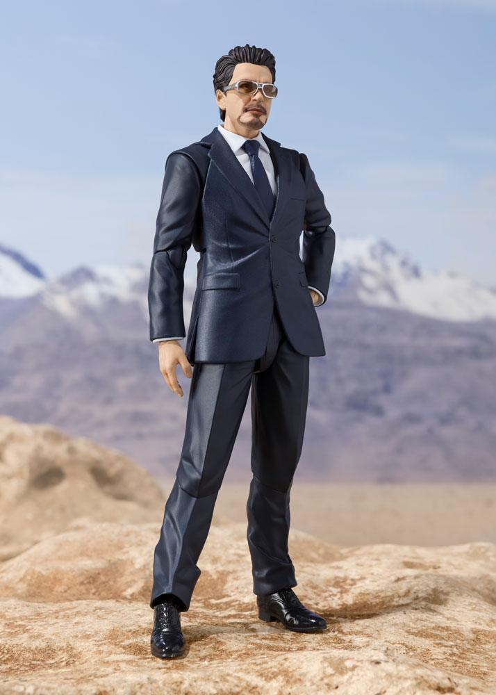 Figurine Iron Man S.H. Figuarts Tony Stark Birth of Iron Man 15cm 1001 Figurines (2)