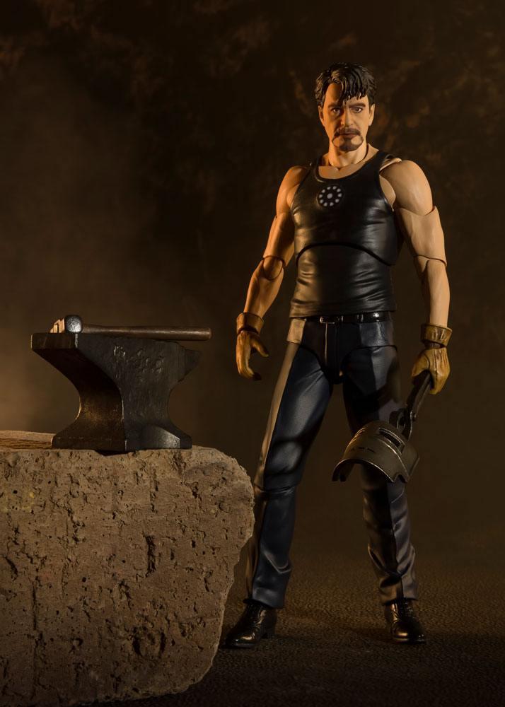 Figurine Iron Man S.H. Figuarts Tony Stark Birth of Iron Man 15cm 1001 Figurines (6)