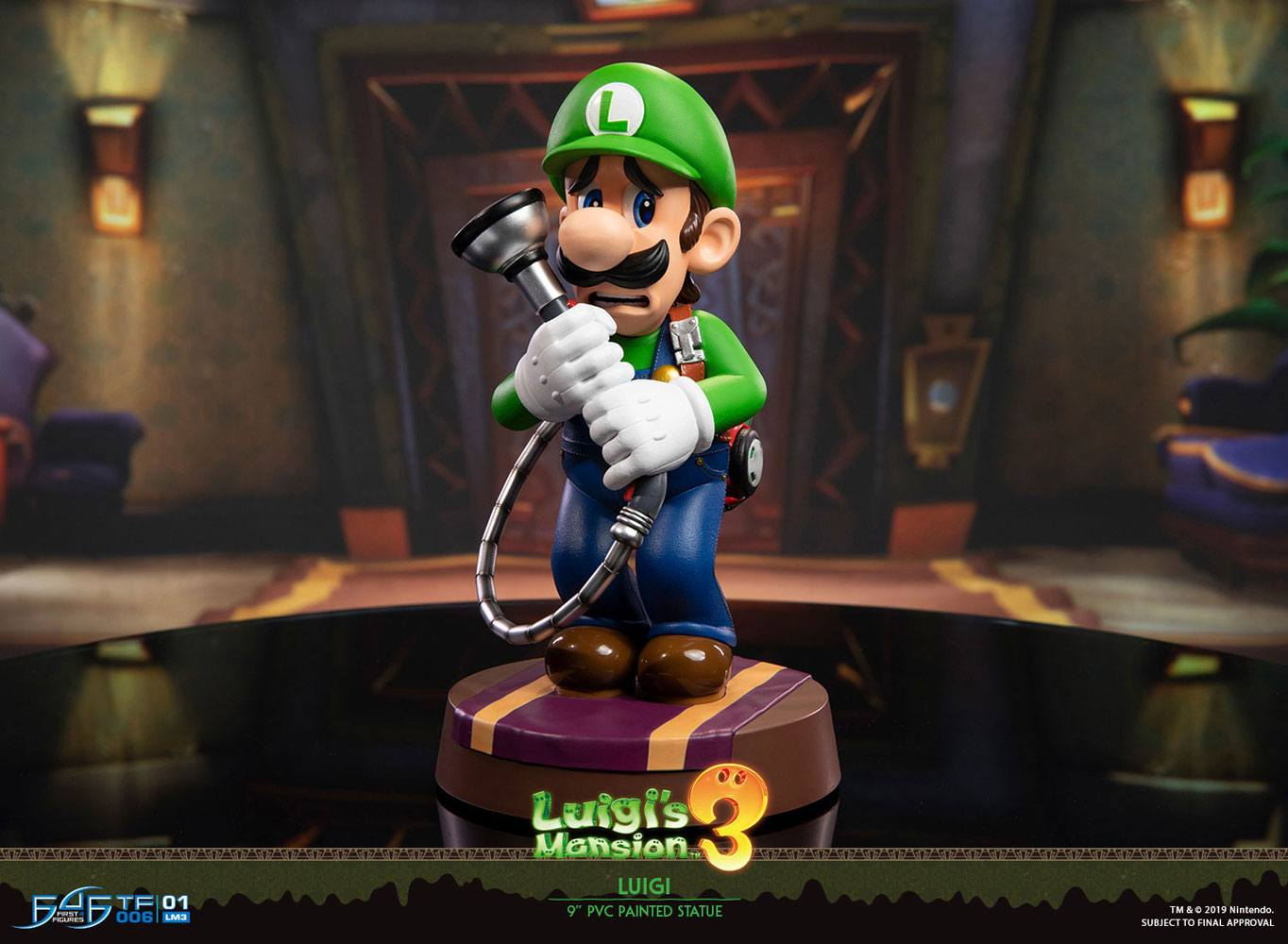 Statuette Luigi\'s Mansion 3 Luigi 23cm