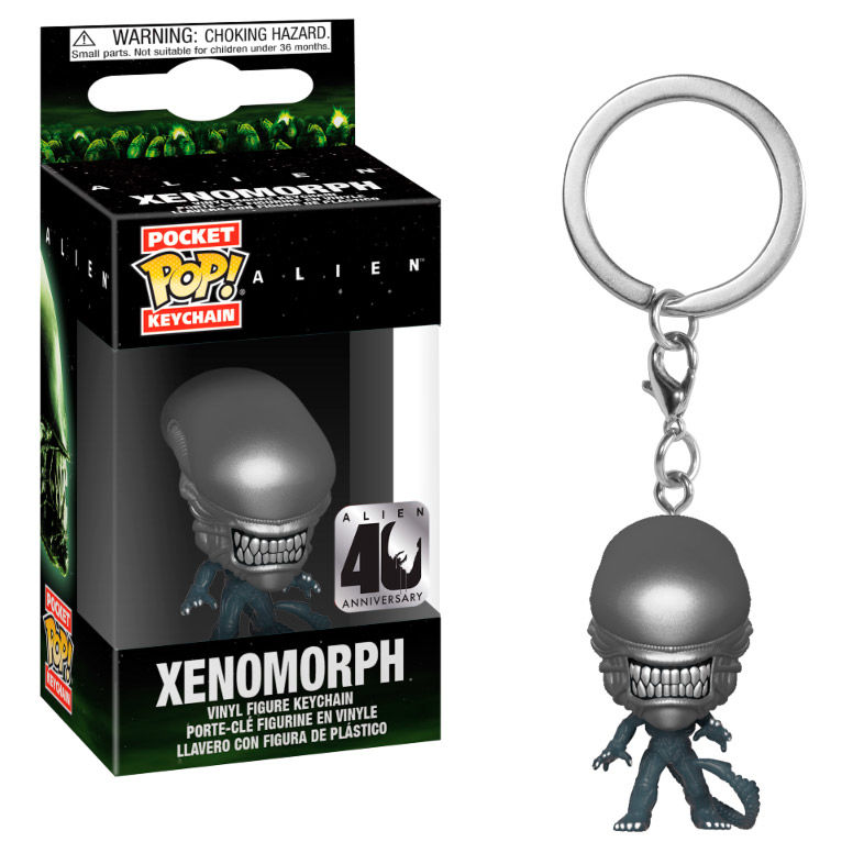 Porte-clés Alien Pocket POP! Xenomorph 4cm 1001 Figurines