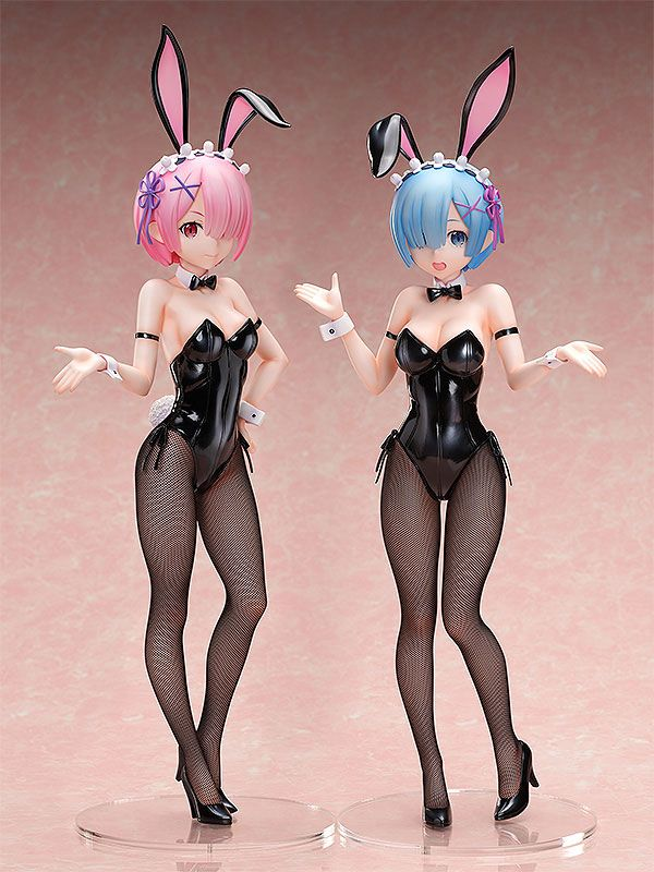 Statuette Re ZERO Starting Life in Another World Ram Bunny Ver. 2nd 44cm 1001 Figurines (7)