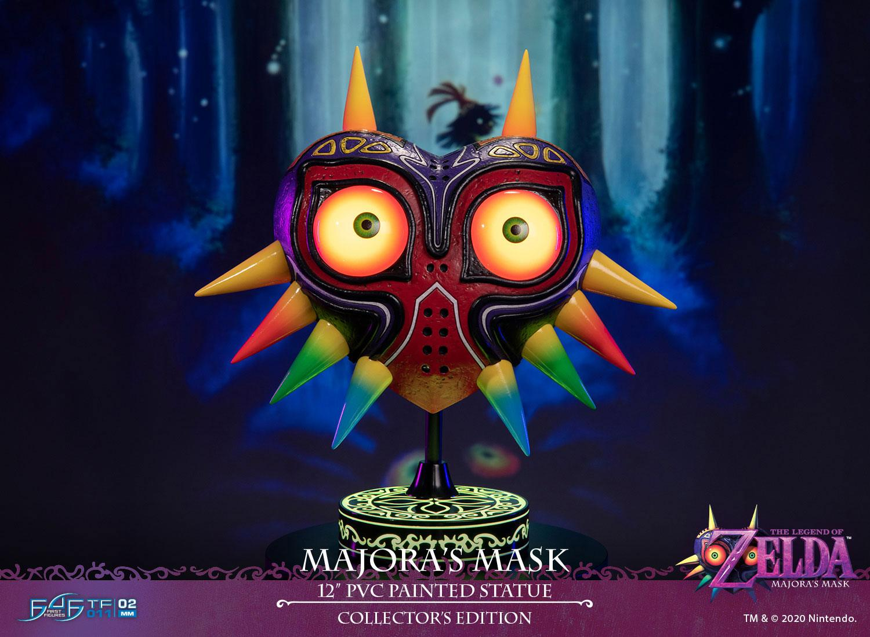 Statuette The Legend of Zelda Majora\'s Mask Collectors Edition 30cm