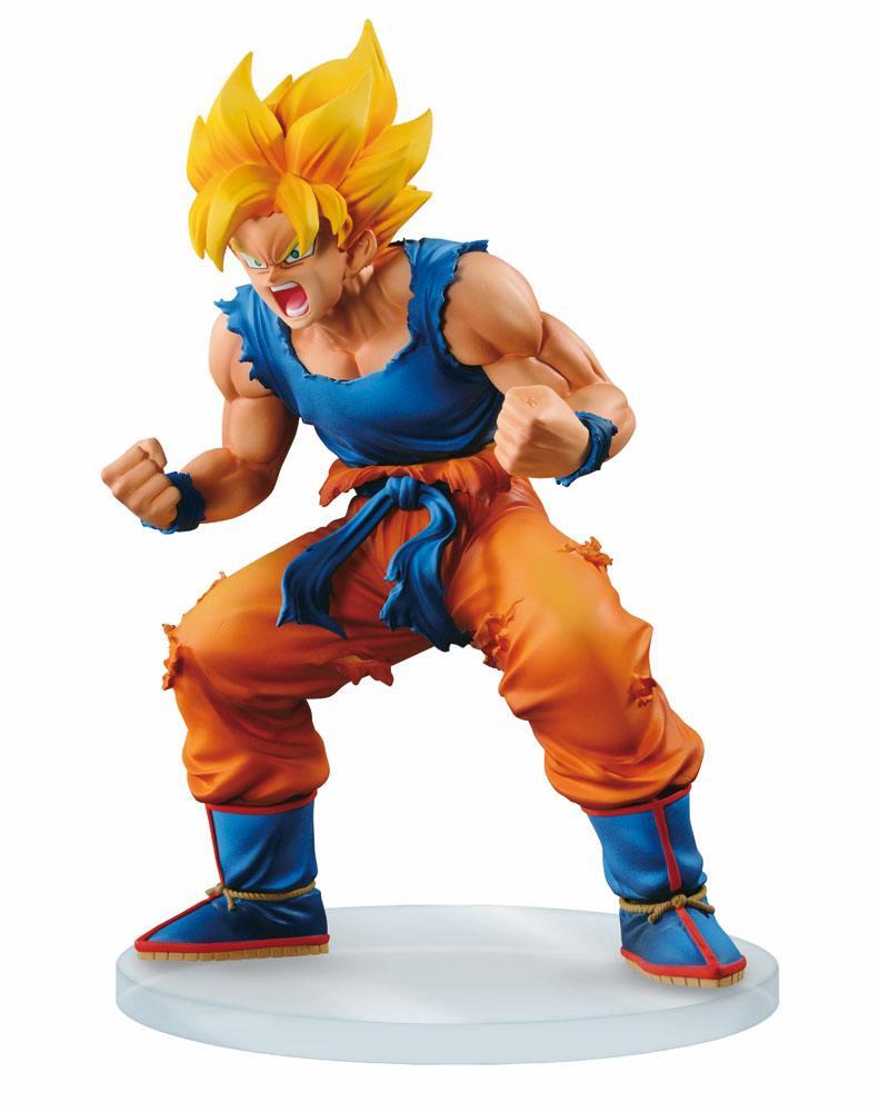 Figurine Dragon Ball Z Dramatic Showcase Super Saiyan Goku 13cm 1001 figurines