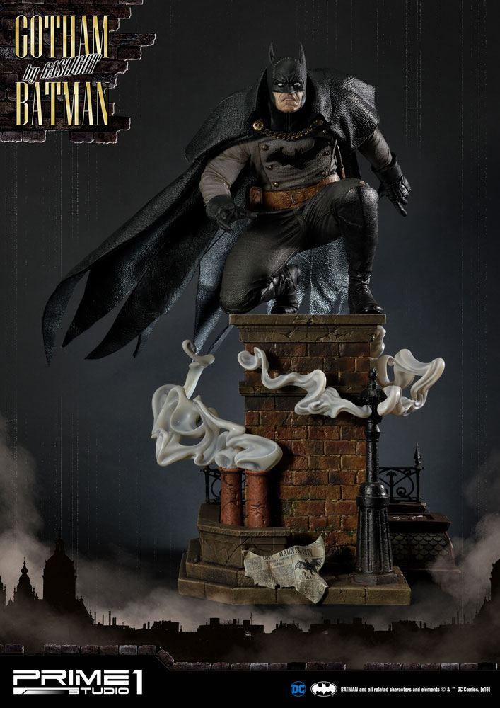 Statuette Batman Arkham Origins Gotham By Gaslight Batman Black Version 57cm 1001 Figurines (1)
