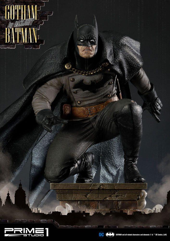 Statuette Batman Arkham Origins Gotham By Gaslight Batman Black Version 57cm 1001 Figurines (2)