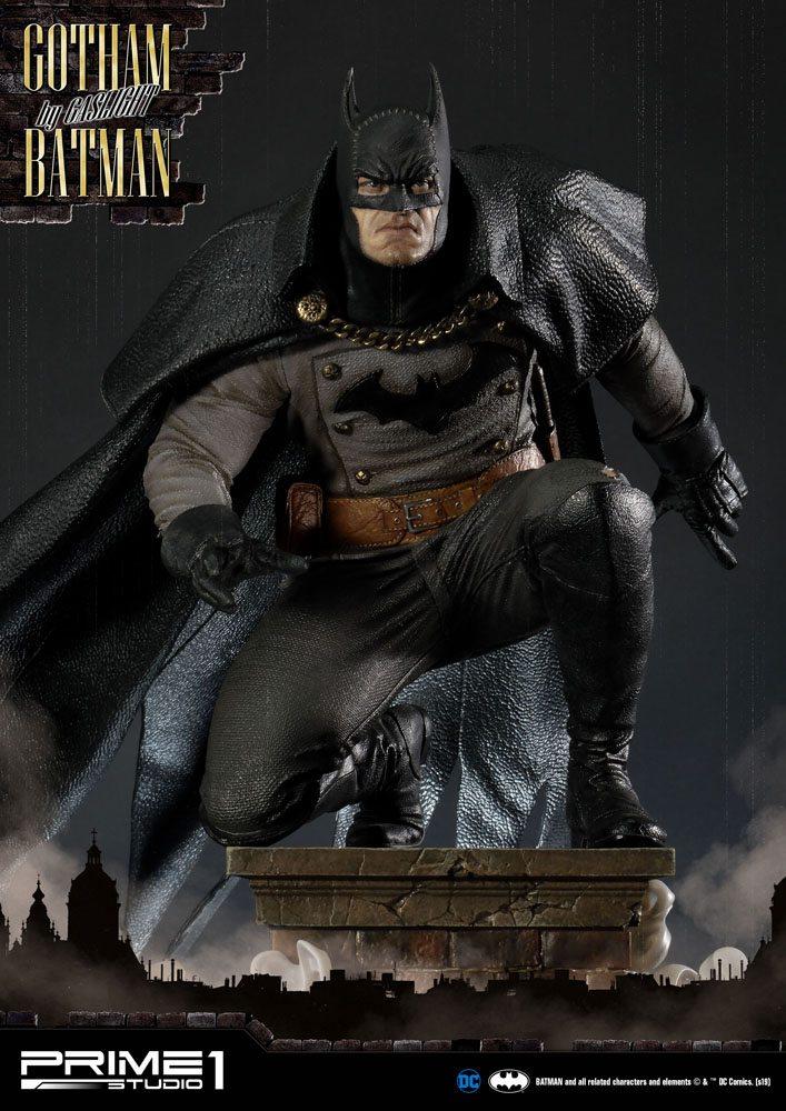 Statuette Batman Arkham Origins Gotham By Gaslight Batman Black Version 57cm 1001 Figurines (4)