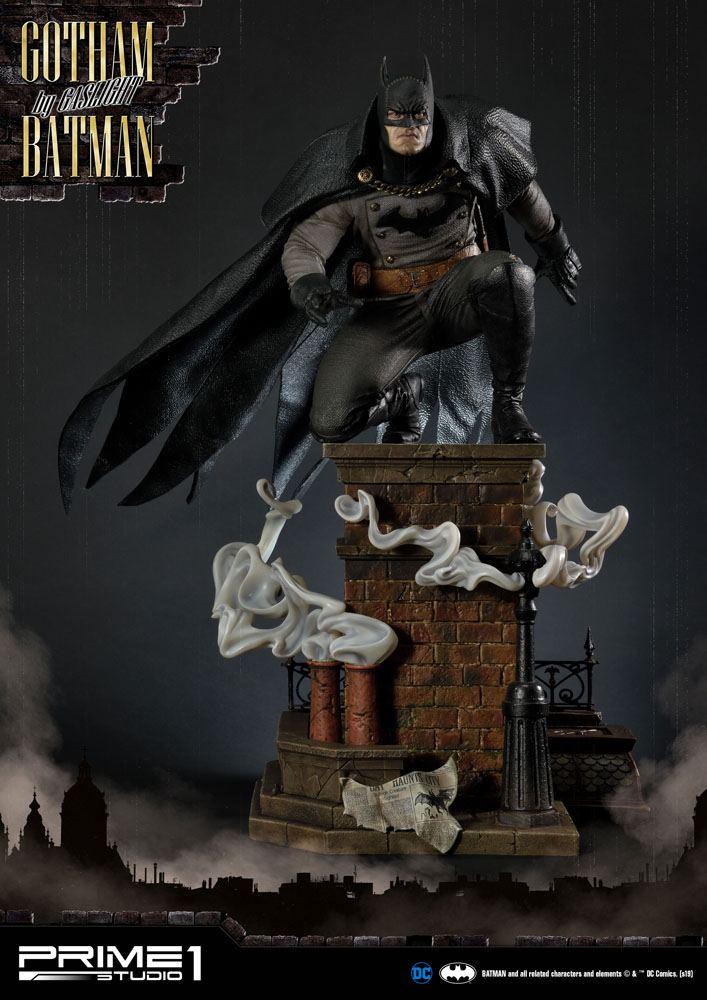 Statuette Batman Arkham Origins Gotham By Gaslight Batman Black Version 57cm 1001 Figurines (5)