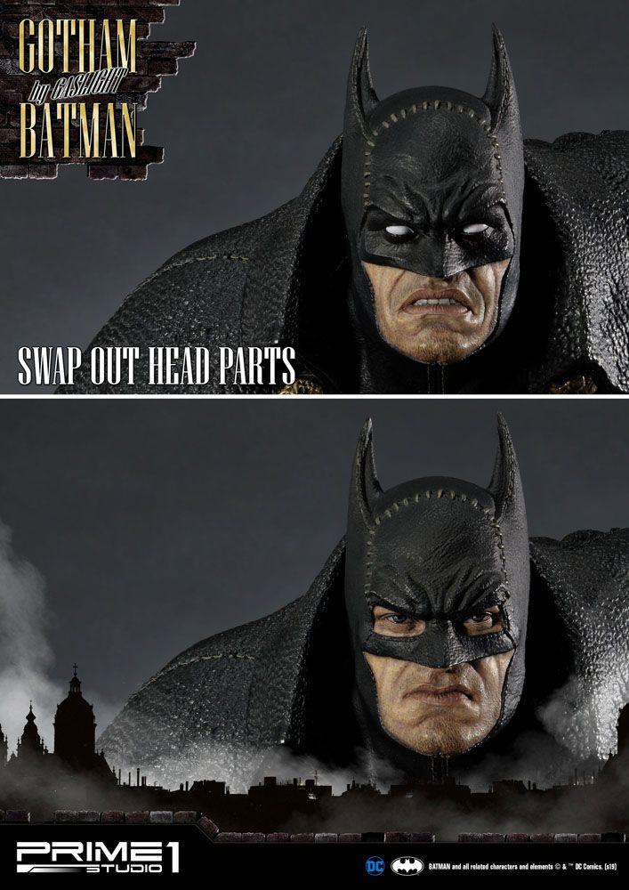 Statuette Batman Arkham Origins Gotham By Gaslight Batman Black Version 57cm 1001 Figurines (25)