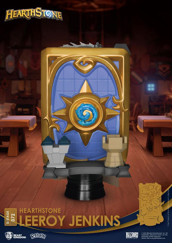 Diorama Hearthstone Heroes of Warcraft D-Stage Leeroy Jenkins 16cm 1001 Figurines (8)