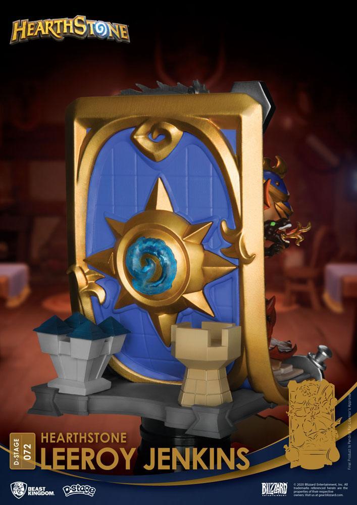 Diorama Hearthstone Heroes of Warcraft D-Stage Leeroy Jenkins 16cm 1001 Figurines (12)
