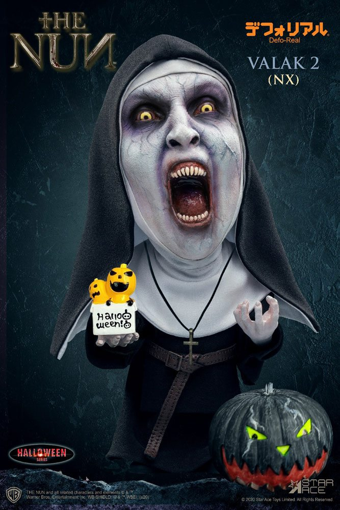 Figurine La Nonne Defo-Real Series Valak 2 Halloween Version Open Mouth 15cm 1001 Figurines (1)