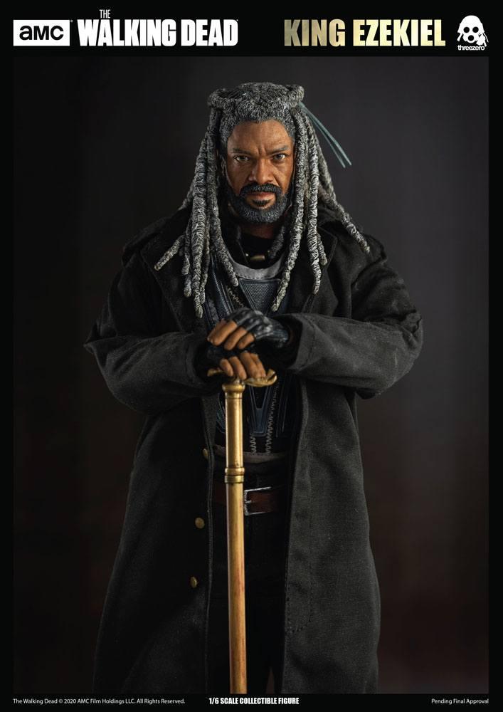Figurine The Walking Dead King Ezekiel 30cm 1001 Figurines (9)