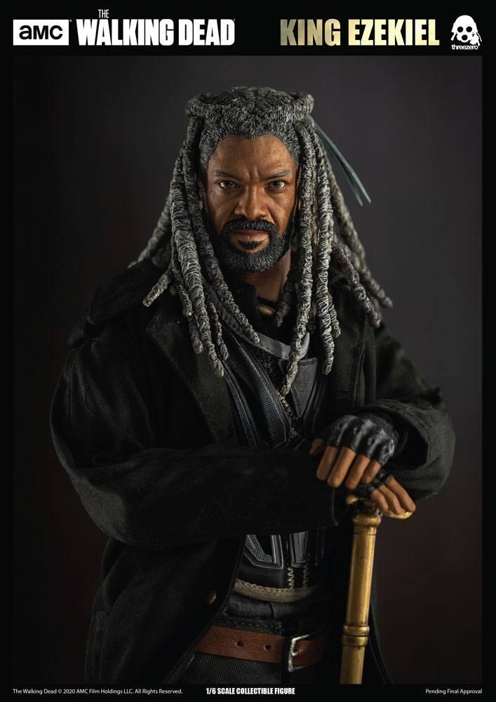 Figurine The Walking Dead King Ezekiel 30cm 1001 Figurines (11)