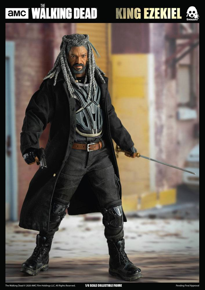 Figurine The Walking Dead King Ezekiel 30cm 1001 Figurines (14)