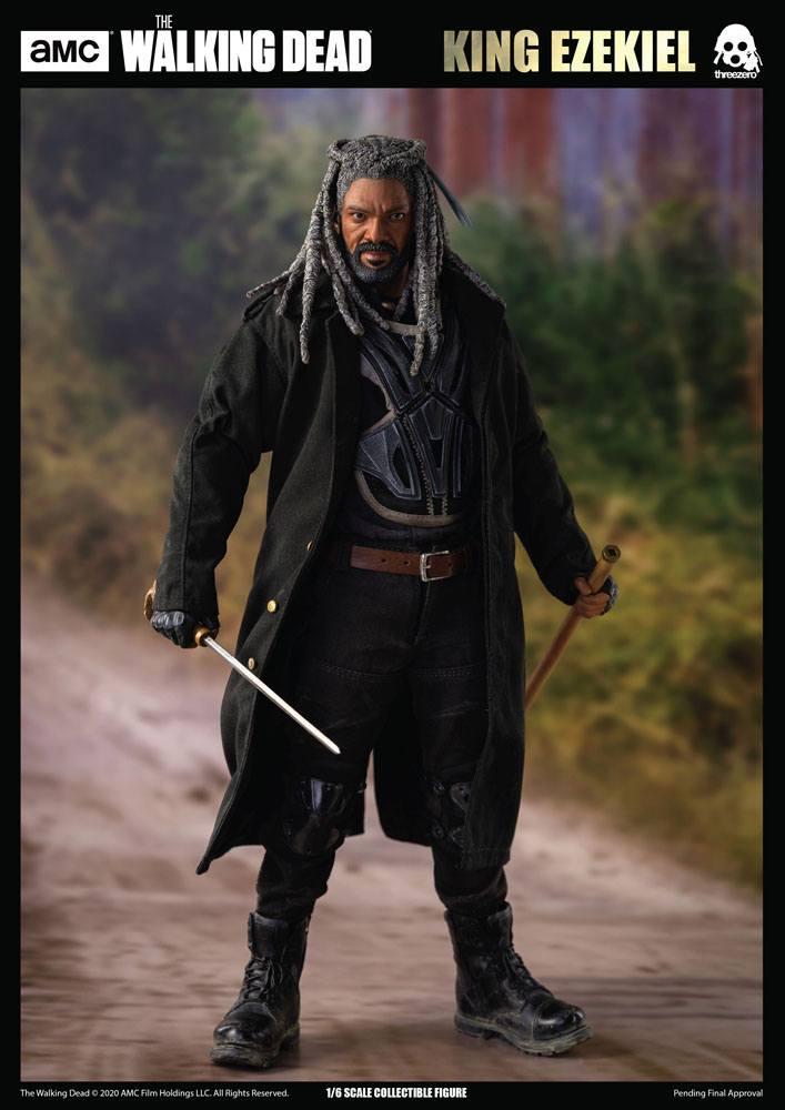 Figurine The Walking Dead King Ezekiel 30cm 1001 Figurines (17)