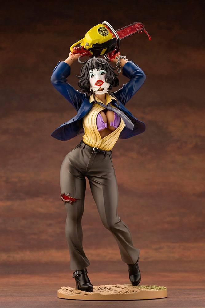 Statuette Massacre à la tronçonneuse Bishoujo Leatherface 25cm 1001 Figurines (2)