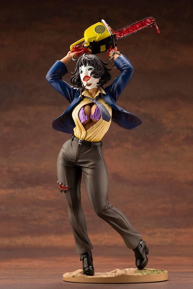 Statuette Massacre à la tronçonneuse Bishoujo Leatherface 25cm 1001 Figurines (3)