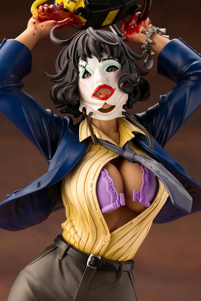 Statuette Massacre à la tronçonneuse Bishoujo Leatherface 25cm 1001 Figurines (4)