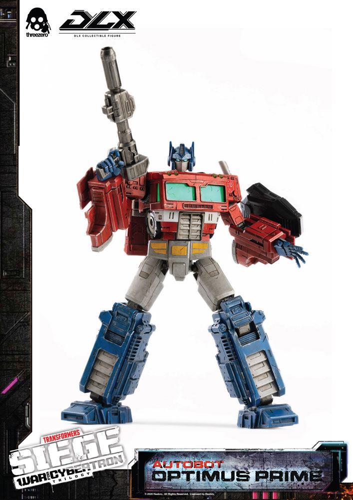 Figurine Transformers War For Cybertron Trilogy DLX Optimus Prime 25cm 1001 Figurines (1)