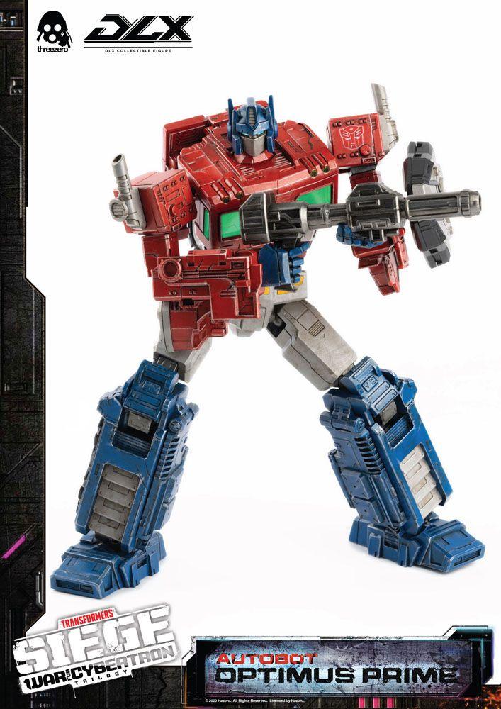 Figurine Transformers War For Cybertron Trilogy DLX Optimus Prime 25cm 1001 Figurines (6)