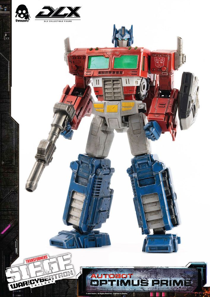 Figurine Transformers War For Cybertron Trilogy DLX Optimus Prime 25cm 1001 Figurines (5)