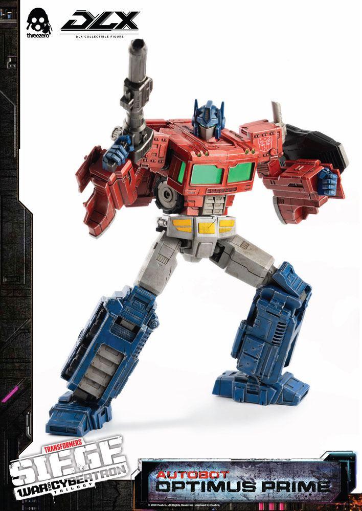 Figurine Transformers War For Cybertron Trilogy DLX Optimus Prime 25cm 1001 Figurines (7)