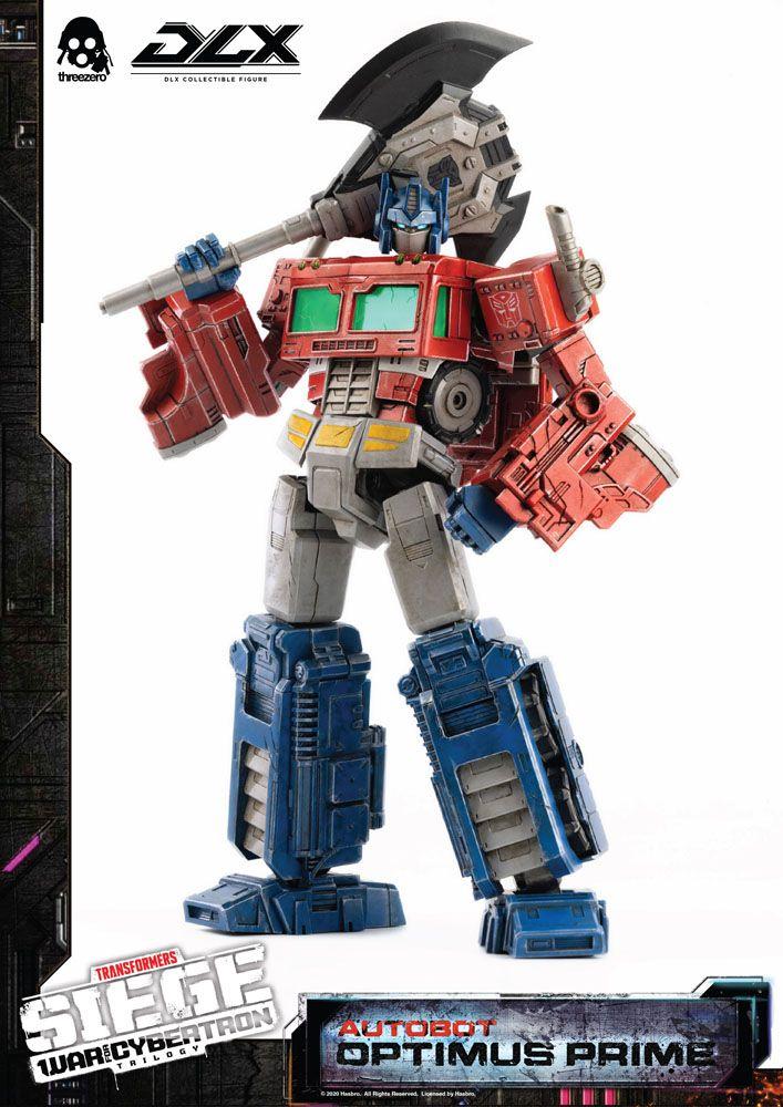 Figurine Transformers War For Cybertron Trilogy DLX Optimus Prime 25cm 1001 Figurines (10)
