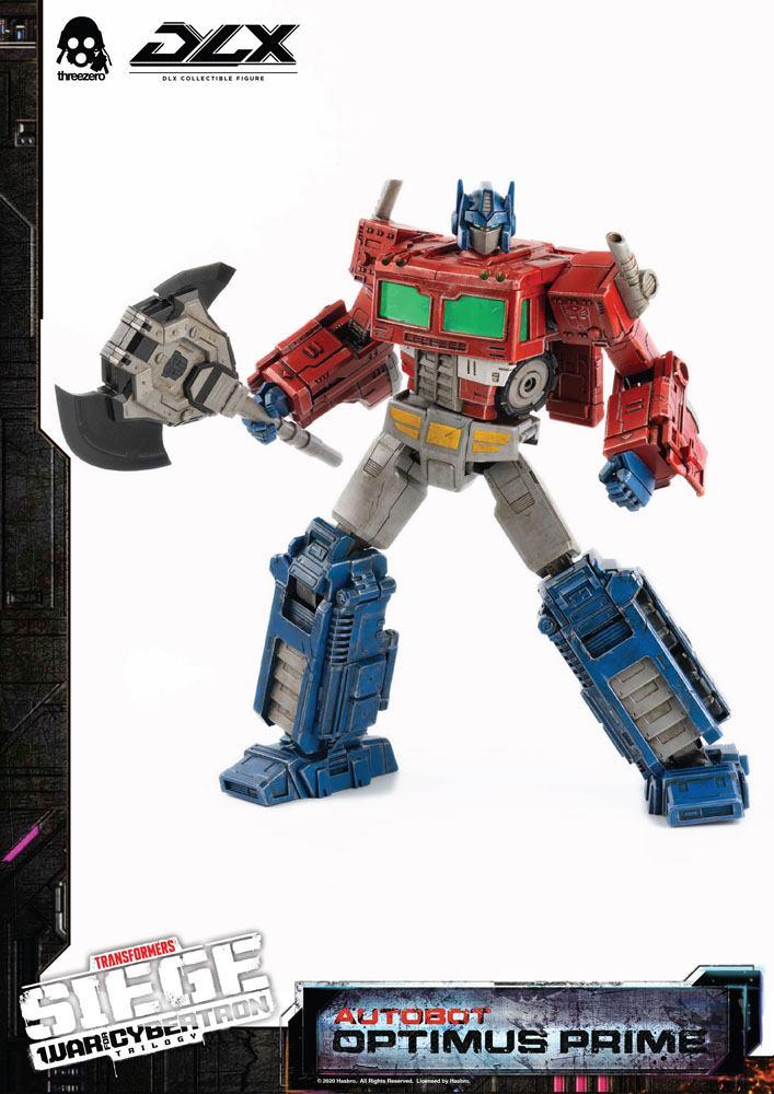 Figurine Transformers War For Cybertron Trilogy DLX Optimus Prime 25cm 1001 Figurines (11)