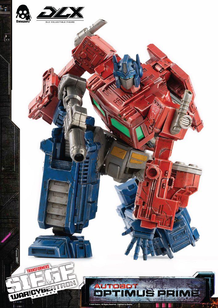 Figurine Transformers War For Cybertron Trilogy DLX Optimus Prime 25cm 1001 Figurines (13)