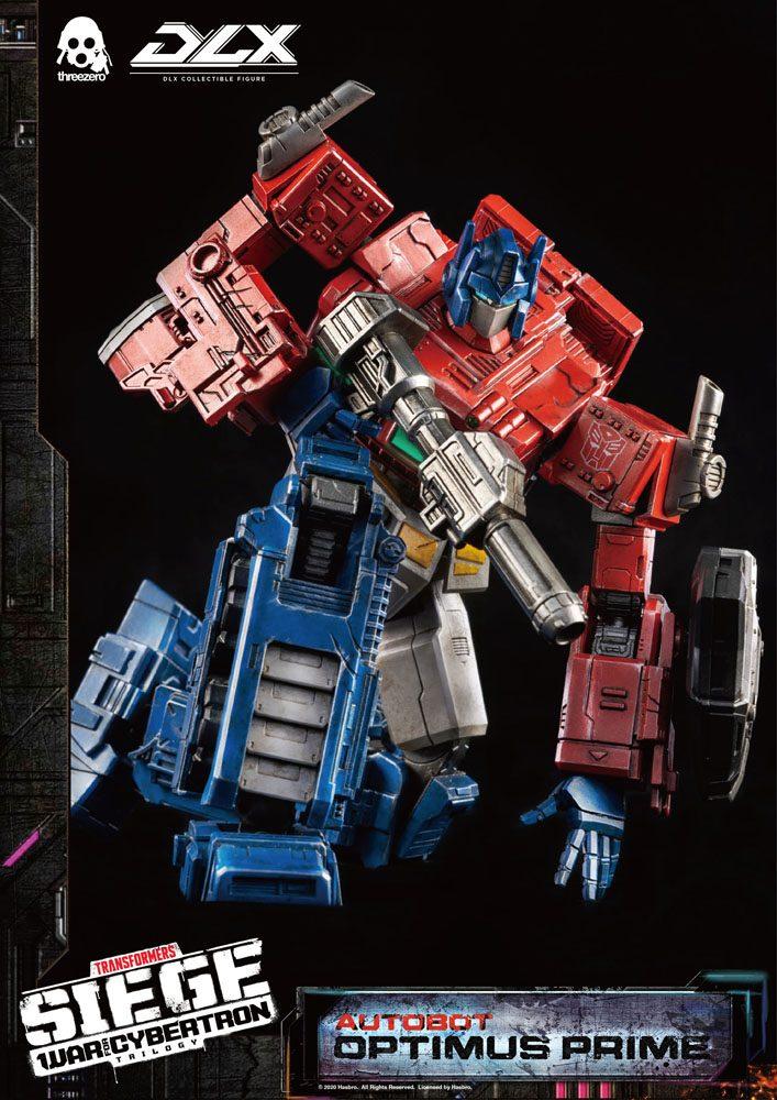 Figurine Transformers War For Cybertron Trilogy DLX Optimus Prime 25cm 1001 Figurines (15)